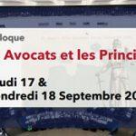 Colloque: Les Avocats et les Principes